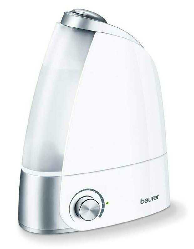 Micro-fine ultrasonic atomisation Suitable for rooms up to 25 m² Humidification output up to 220 ml/h...