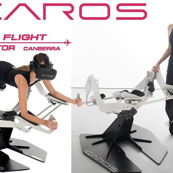 Choose between the amazing ICAROS Active Virtual Reality and the fantastic Jet Flight Simulator with...