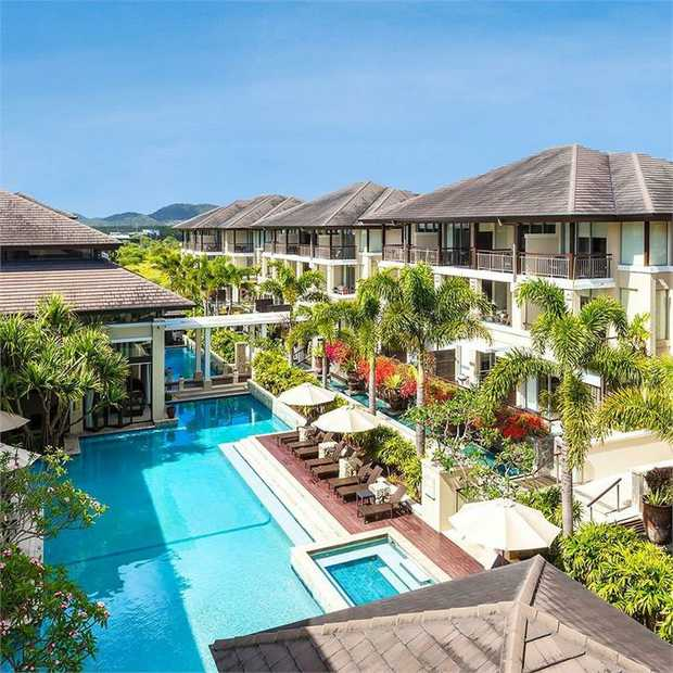 Recharge by the ocean with an apartment stay at the stylish Oaks Santai Resort Casuarina, bringing a...