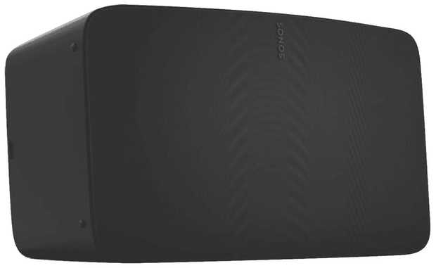 Experience vividly clear, room-filling sound for music streaming, vinyl, and more with the Sonos Five...
