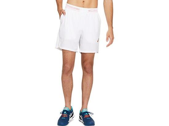 The TENNIS 7 INCH SHORT features mesh panels along the waistband, inseams and back to help ensure...