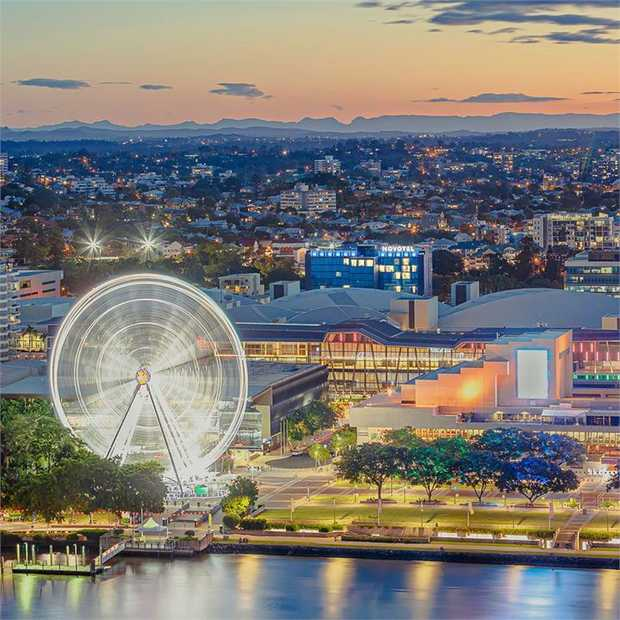 Experience a stylish city escape at Brisbane's vibrant Novotel South Bank, located a short walk from...