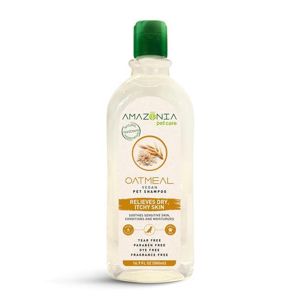amazonia shampoo oatmeal dry itchy skin  500ml | Amazonia cat dog | pet supplies| Product Information:...