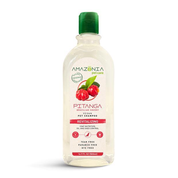 amazonia shampoo pitanga revitalizing  500ml | Amazonia cat dog | pet supplies| Product Information:...