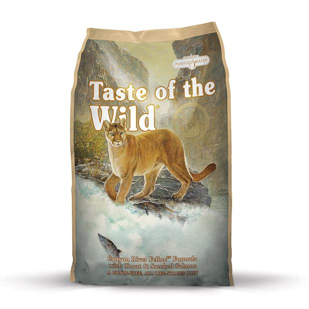 taste of the wild canyon river trout smoked salmon  6.6kg | Taste of the Wild cat food | pet supplies|...