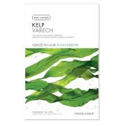 The purifying sheet mask with kelp extract tones tired skin chapped and stressed by the elements while...
