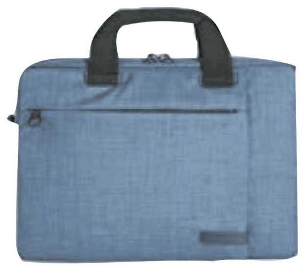 """The TUCANO 14"""" Svolta Notebook Carry Case (Blue) BSVO1314B's 14-inch capacity enables you to have room..."""