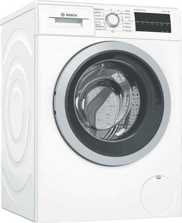* 1400rpm Spin Speed* 16 Programs* HygieneCare Option* 4.5 Star Water Rating, 69L Per Wash* 4 Star...