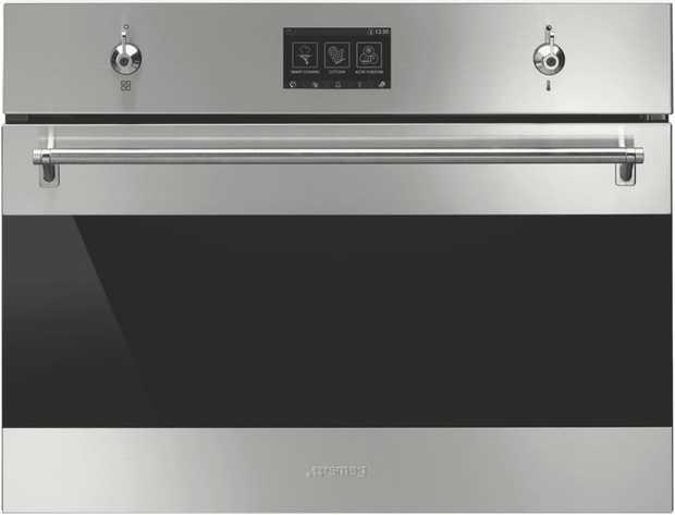 * 50 Litre oven capacity* 20  56 SmartSense Plus auto menus *  Cooking levels*  Vapour Clean