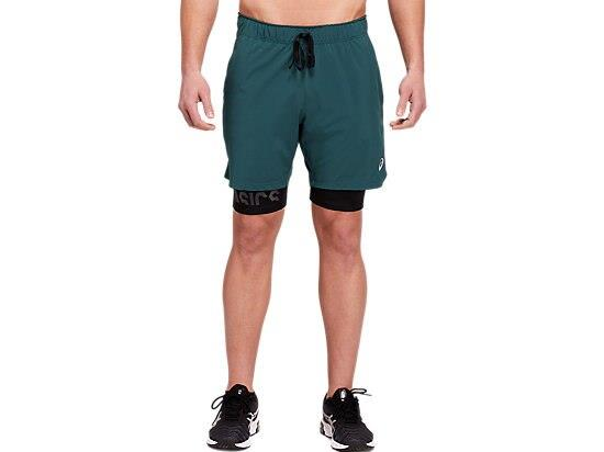 The 7 INCH STRETCH WOVEN 2-IN-1 SHORT is an effective choice for high-intensity training. These shorts...