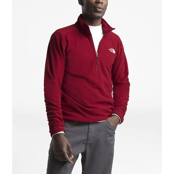 Classic fleece quarter-zip for mid-weight warmth after a long day in the elements.
