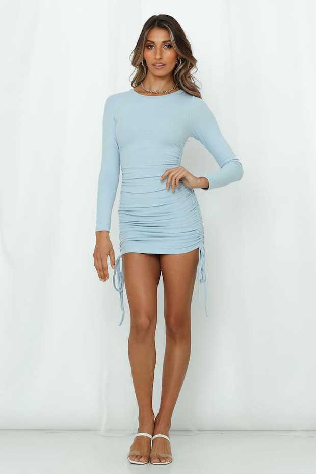 Length from shoulder to hem of size S: 76cm.