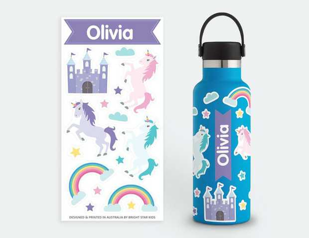 Hydro Flask Stickers | Water Resistant Stickers For Water Bottles Our water bottle stickers are...