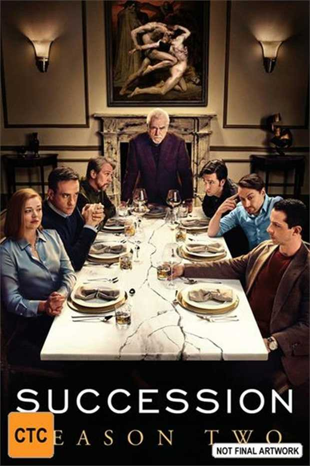 Succession - Season 2 DVD          Take what's...
