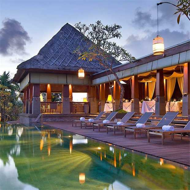 Bask in the bliss of a secluded private pool villa located in the fashionable heart of Seminyak, close...