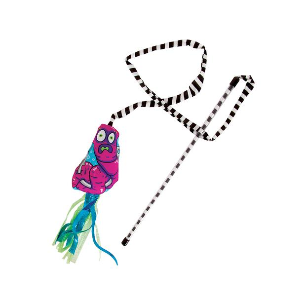 fat cat worm catfisher cat teaser  each | Fat Cat cat toy&accessories; | pet supplies| Product...