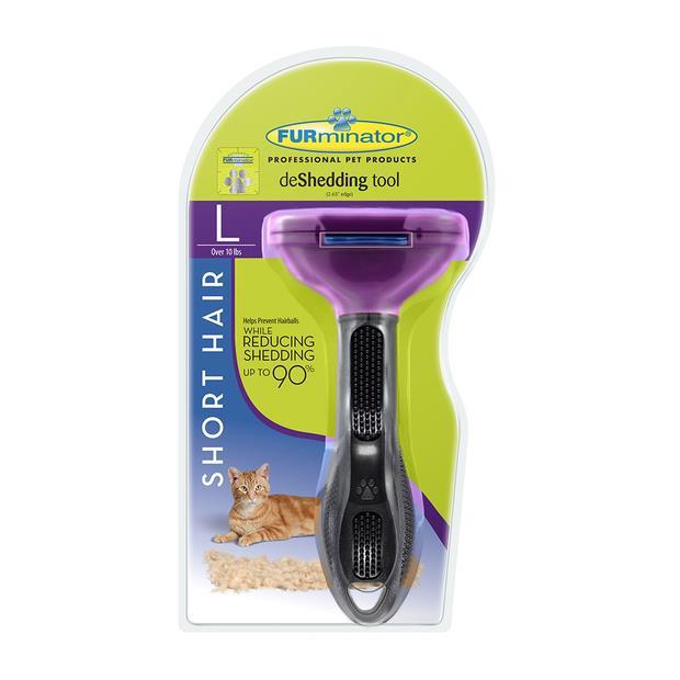 furminator short hair large cat  large | Furminator cat | pet supplies| Product Information:...