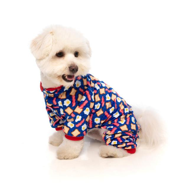 fuzzyard pyjamas bacon and eggs  size 6 | FuzzYard dog | pet supplies| Product Information:...