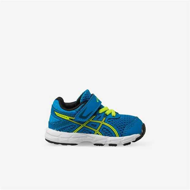 Give budding young runners a great start with the GEL-CONTEND 6 TS toddler running shoe from ASICS.