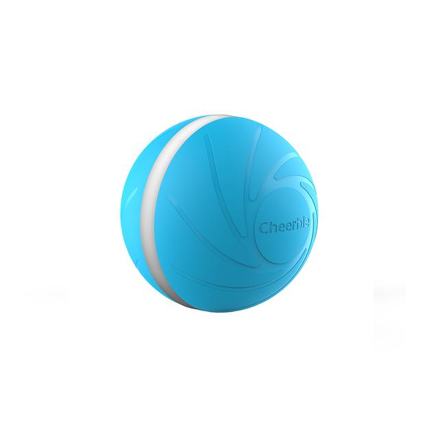 cheerble wickedball dog toy blue  each | Cheerble dog toy&accessories; | pet supplies| Product...