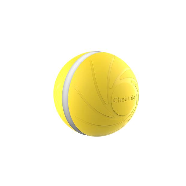 cheerble wickedball dog toy yellow  each | Cheerble dog toy&accessories; | pet supplies| Product...
