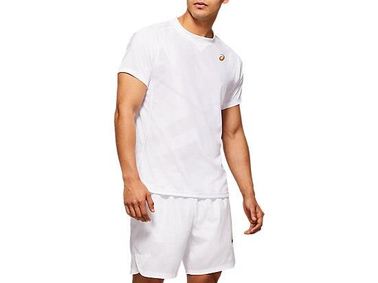 Made to boost performance on the tennis court, the TENNIS SHORT SLEEVED TEE is made from water...