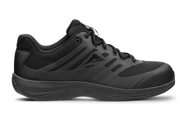 Inspired by the popular Ascent walking shoes, the Platinum is lightweight, durable and slip resistant.