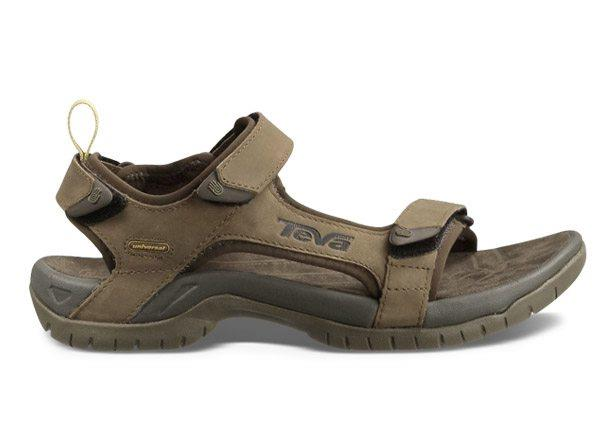 The TEVA Tanza Leather Mens Brown sandal is perfect for any outdoor adventure. The Tanza sandal stays...