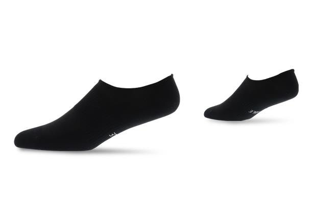 The Athlete's Foot Invisible socks designed for a no show look with Silpure technology and CoolMax...