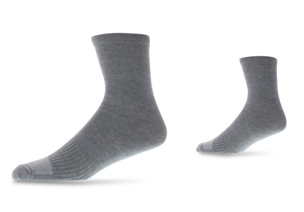The Athlete's Foot Crew socks suitable for school, sports and everyday wear, with Siplure technology...