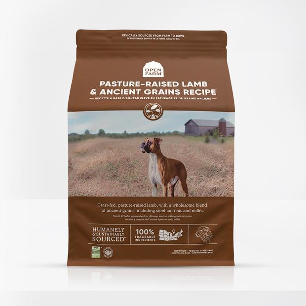 open farm pasture raised lamb ancient grain dry dog food  1.8kg | Open Farm dog food | pet supplies|...