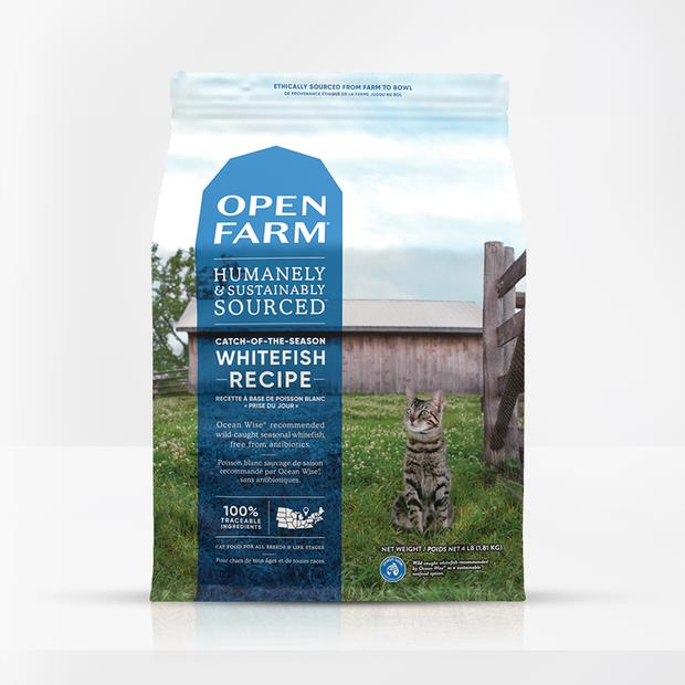 open farm catch of the season whitefish cat dry food  3.6kg | Open Farm cat food | pet supplies|...