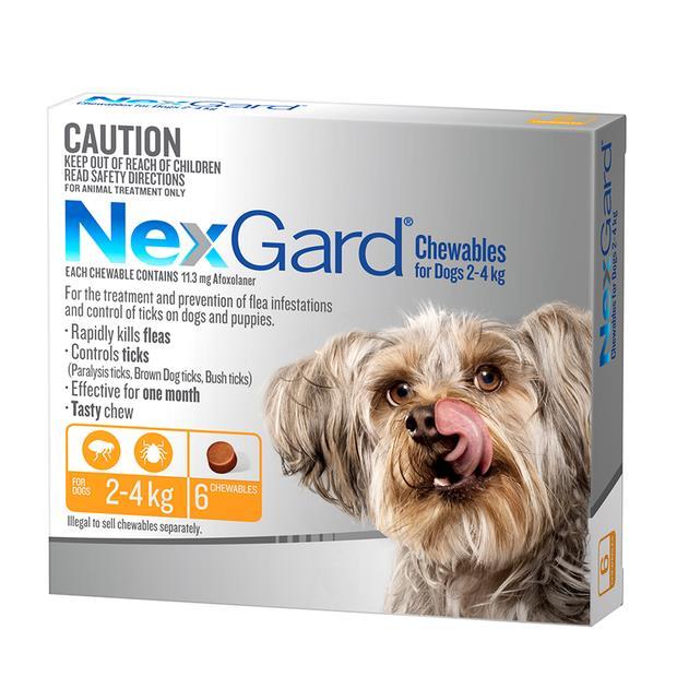 nexgard very small  6 pack | NexGard dog Flea&Tick; Control | pet supplies| Product Information: Nexgard...
