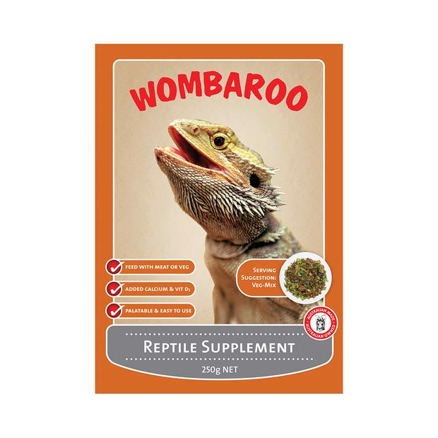 wombaroo reptile supplement  250g | Wombaroo food | pet supplies| Product Information:...