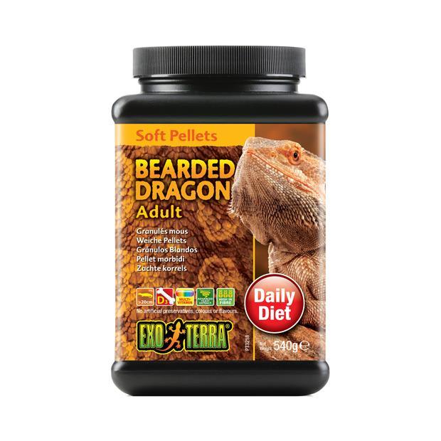 exo terra bearded dragon food adult soft pellets  540gm | Exo Terra food | pet supplies| Product...