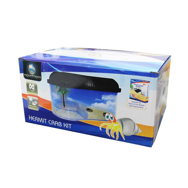 aquatopia hermit crab starter kit tank  each | Aquatopia | pet supplies| Product Information:...