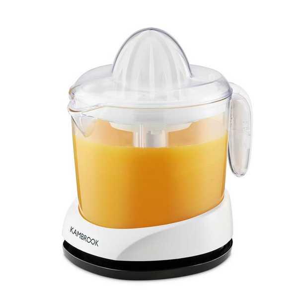 1 litre removable juicing jug Easy-pour spout Dual rotation Small & large juicing cones 2 removable...