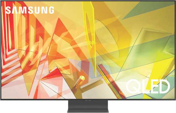 Details spring to life with this Samsung 65 inch 4K QLED Smart TV (QA65Q95TAWXXY)'s Direct Full Array ...