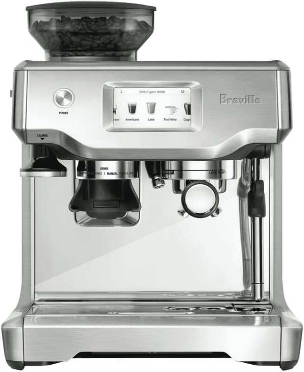 Kickstart your day with this Breville the Barista Touch Espresso Machine BES880BSS, offering luxurious...