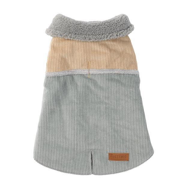 fuzzyard jacket brunswick sand grey  size 4   FuzzYard dog   pet supplies  Product Information:...
