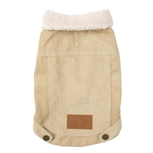 fuzzyard jacket rebel taupe  size 5   FuzzYard dog   pet supplies  Product Information:...
