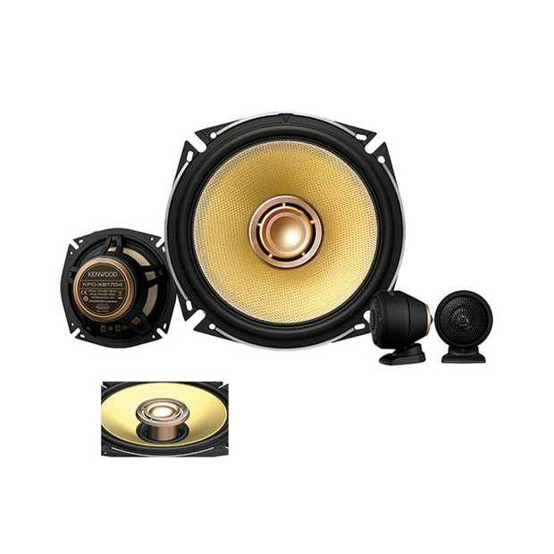 "XS-Series Hi-Res Audio Certified 6.5"" 3 way speaker system with Glass Fiber woofer cone Dual Voice..."