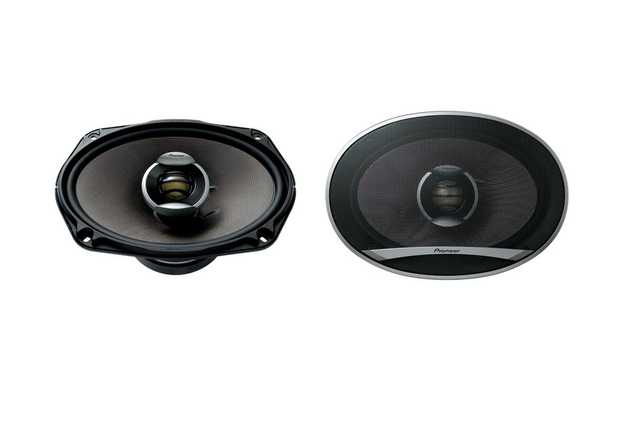 360 Watts Max Power (80 Watts Nominal) Basalt Fibre IMX Speaker Cones Provide Strength and Durability...