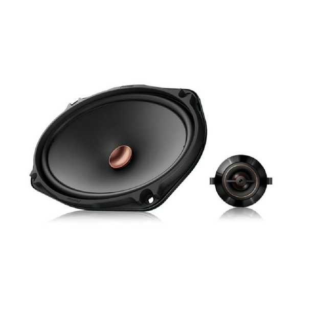 330 Watts Max Power 26mm Polyester Soft Dome Tweeter with Swivel Capability Aramid Fiber Interlaced...