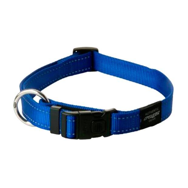 rogz collar blue  medium | Rogz dog | pet supplies| Product Information: rogz-collar-blue