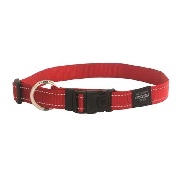 rogz collar red  medium | Rogz dog | pet supplies| Product Information: rogz-collar-red