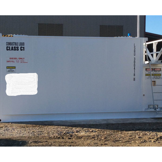 Self Bunded Tank 30,000 litres-  2015 LSB 30,000 litre Self Bunded Storage Tank inc security doors.