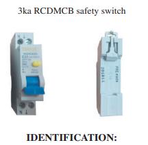 IDENTIFICATION:    Brand Transco   Model RCDMCB10S/RCDMCB16S/RCDMCB20S   Batch no.