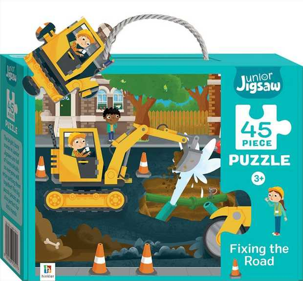 Junior Jigsaw Road is picture, but items will be sent at random.