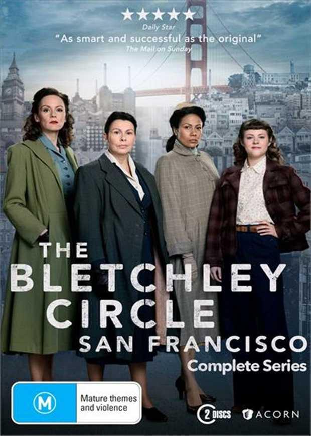 Bletchley Circle - San Francisco - Complete Series DVD      Set...